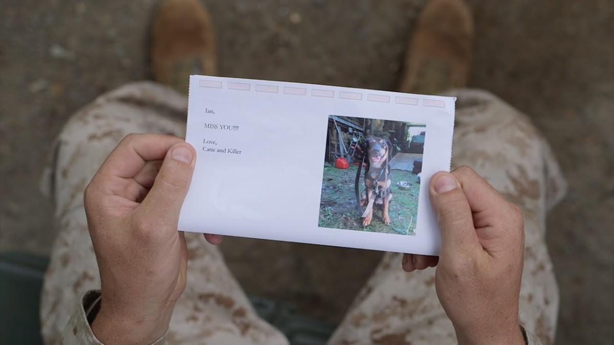 marine holding sandboxx letter