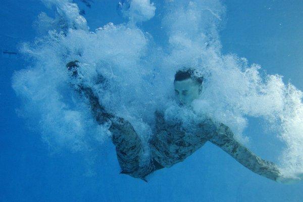 u.s. marine underwater
