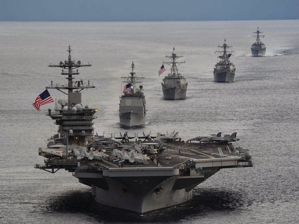 navy carrier battle group ships