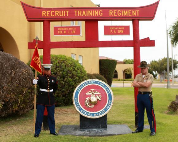 mcrd san diego recruit training regiment