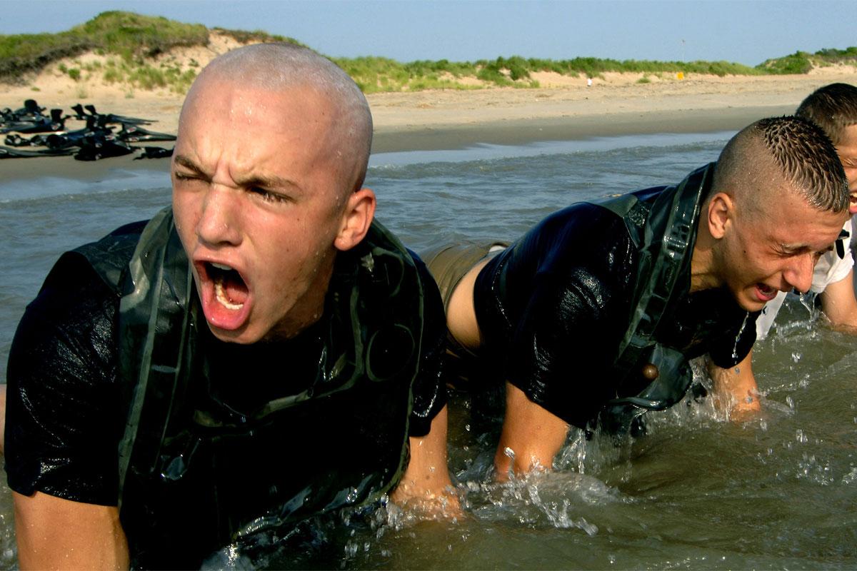 amphibious reconnaissance beach workout