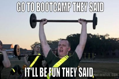 Image result for boot camp pictures funny