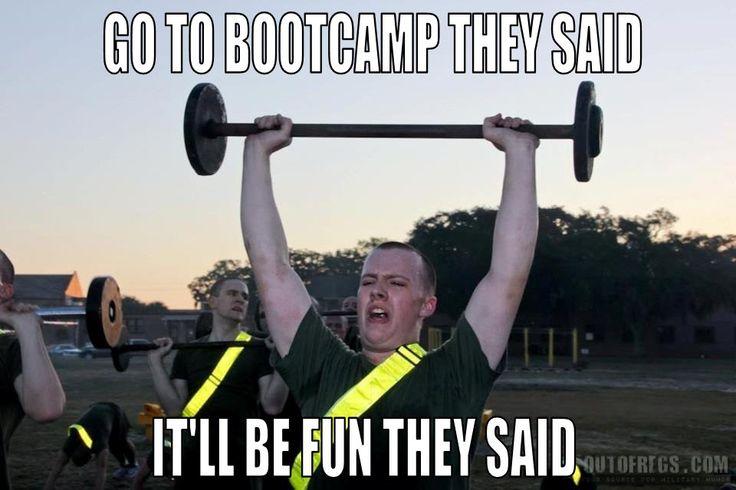 funny boot camp basic training stories USAF USA USN USMC USCG