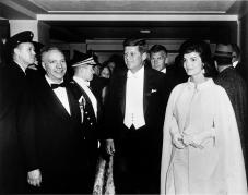 JFK and Jackie at Inaugural Ball